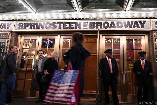 Bruce Springsteen steht bis Februar am Broadway auf der Bühne
