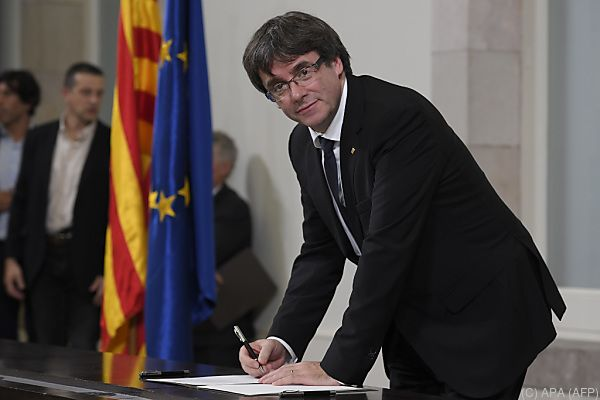 Regionalpräsident Puigdemont bleibt nur mehr wenig Zeit