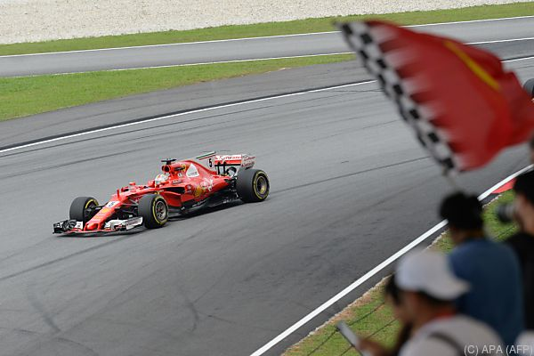 Zumindes für Sebastian Vettel scheint es zu laufen
