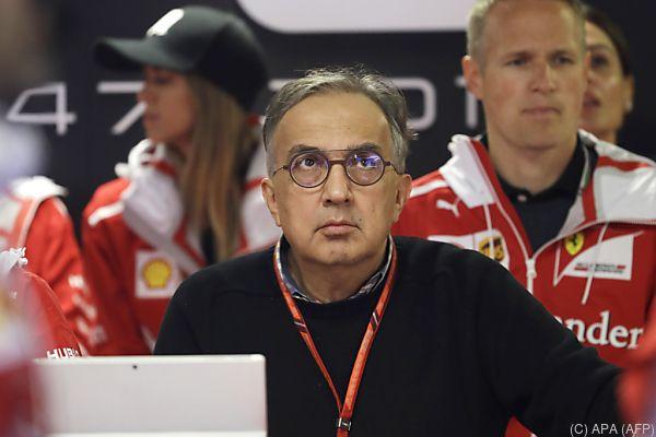 """Der Ferrari-Boss war """"not amused"""""""