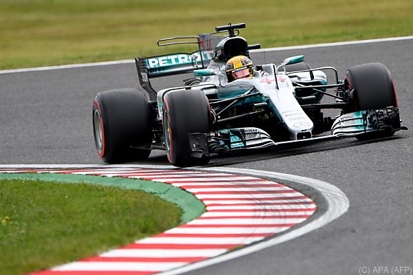 Hamilton in Suzuka erstmals auf Pole
