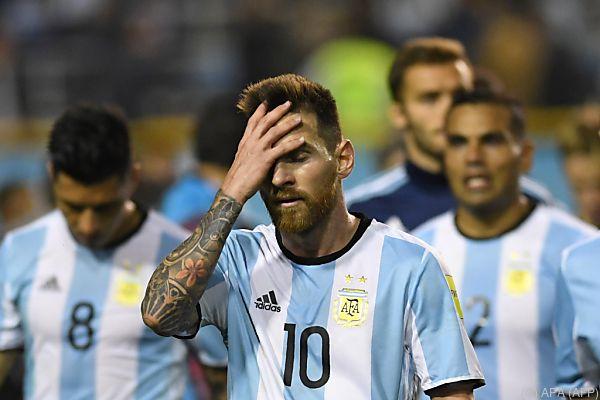 Lionel Messi zuletzt mit Nationalteam in der Krise