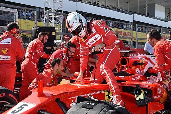 Sebastian Vettel braucht für Titelgewinn ein kleines Wunder