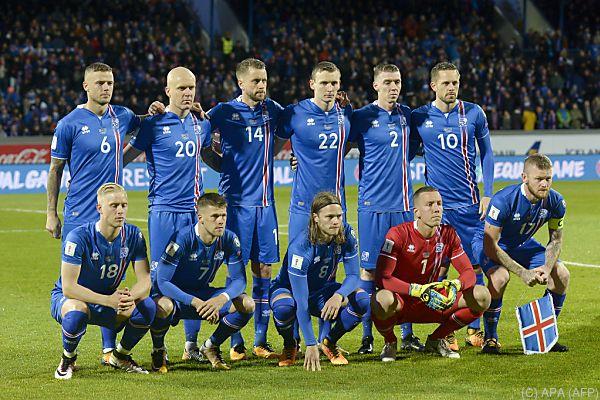 Kroatiens Gruppengegner Island qualifizierte sich direkt für die WM