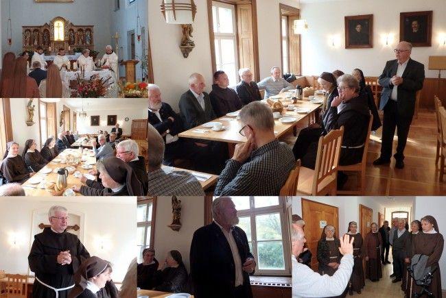 Treffern der Franziskanischen Gemeinschaften im Franziskanerkloster Dornbirn