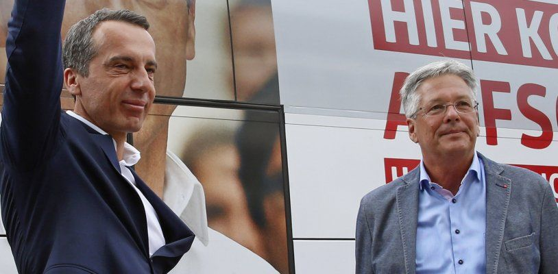 Kaiser: Kaum Chancen für Rot-Blau – Wie sehr wackelt der Stuhl von Christian Kern?