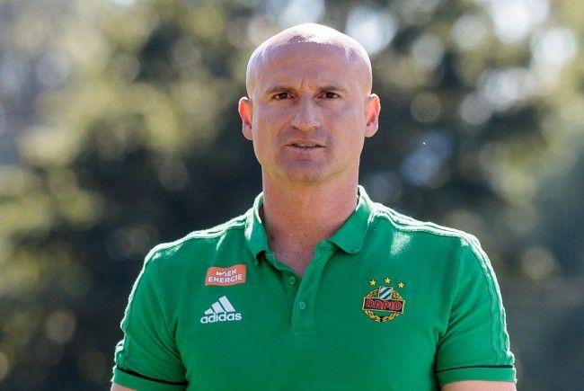 Rapid-Trainer Goran Djuricin.