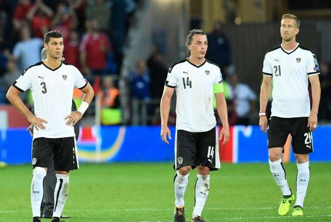 Das ÖFB-Team hat die Qualifikation für die WM 2018 in Russland klar verpasst.
