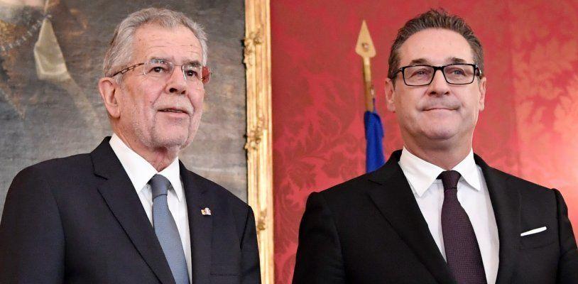 NR-Wahl: Strache zur Aussprache bei Van der Bellen – So verlief das Gespräch