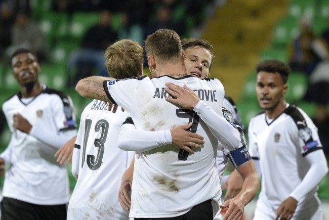 Österreich siegt im letztem WM-Qualimatch gegen Moldau mit 1:0.