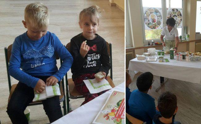 Den Kindern der VS Lochau wurde die landwirtschaftliche Arbeitsweise beim Aktionstag spielerisch nähergebracht.