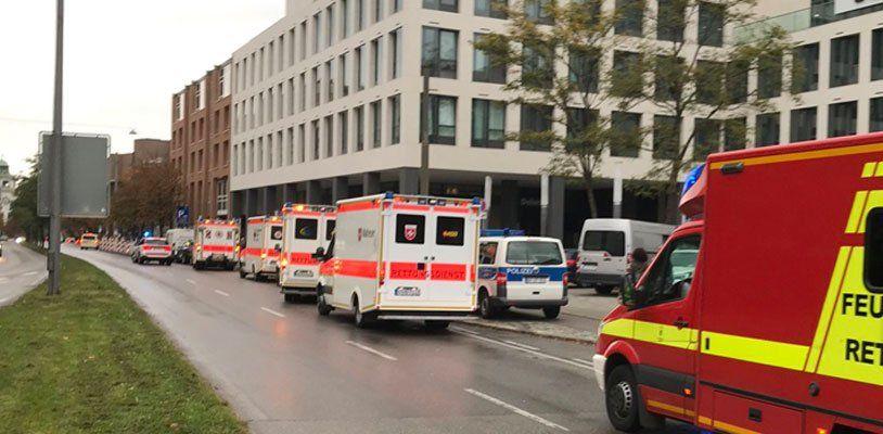 Mehrere Verletzte bei Messer-Attacke in München - Verdächtiger festgenommen