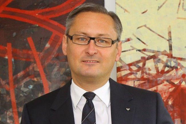 Gerhard Hamel ist Vorstandsvorsitzender der Volksbank Vorarlberg.