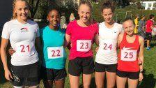 Fünf neue Champions im Cross Country ermittelt