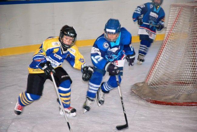 Eishockey Nachwuchsevent im Aktivpark