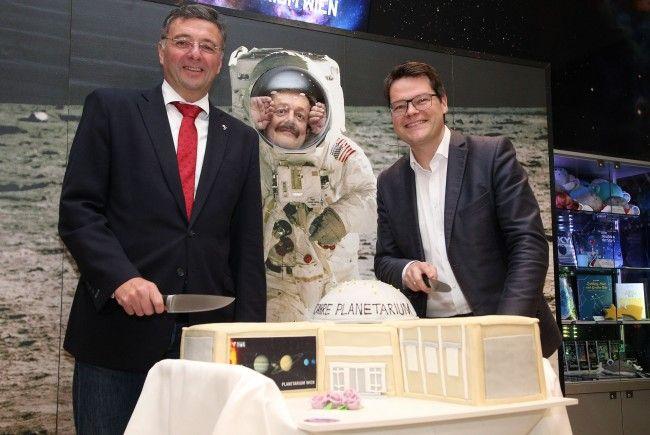 Das Planetarium Wien feiert 90-jähriges Bestehen