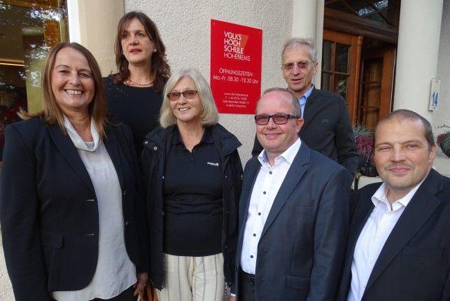 Monika Reis, GF Bernadette Madlener, Margarethe Ruff, Karl Dobler, Rudolf Hirnböck, Günter Mathis.