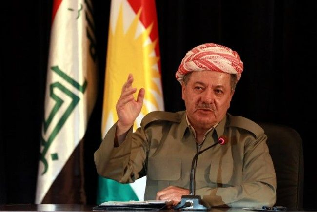 Präsident der autonomen Kurdenregion: Massoud Barzani