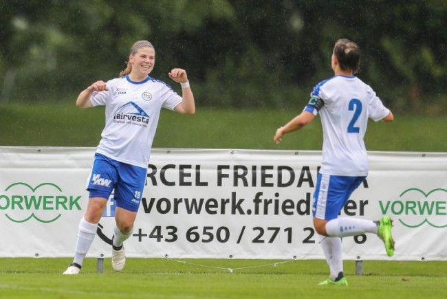 FFC Vorderland fast aller Abstiegssorgen los