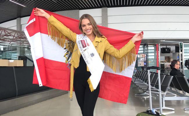 Bianca Kronsteiner nimmt an der internationalen Miss Earth Wahl auf den Philippinen teil.