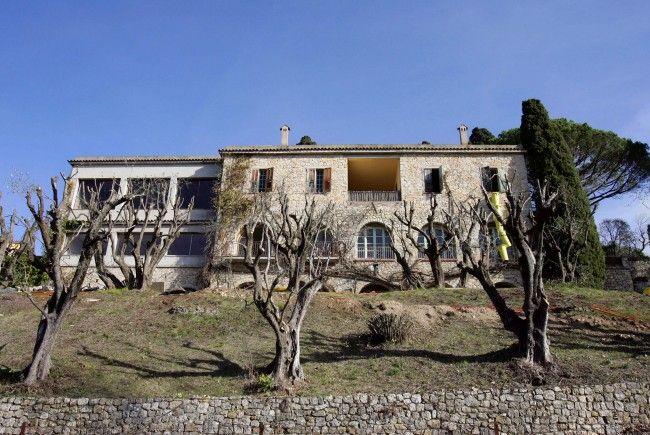 Picasso verbrachte in der Villa seine letzten Jahre.