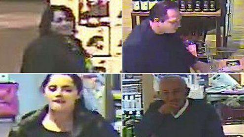 Fahndung nach Ladendiebstahl in Egg: Wer erkennt diese Personen?