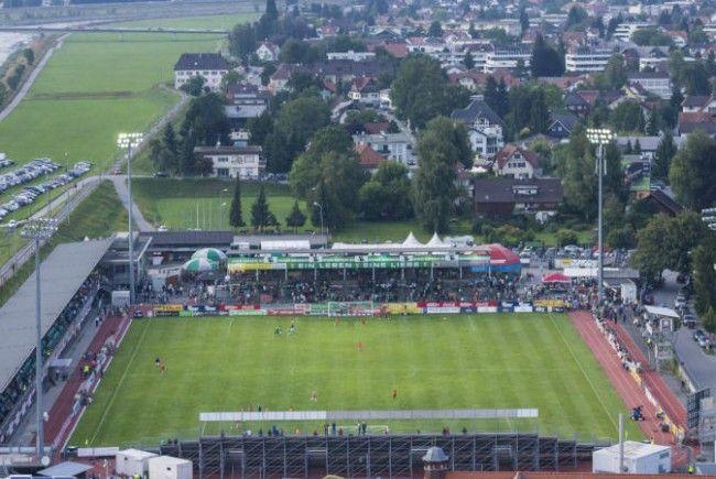 Die Klägerin hofft, dass Austria Lustenau in die Regionalliga absteigt