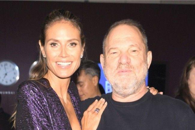 Sex-Skandal Harvey Weinstein: Heidi Klum bricht ihr Schweigen.